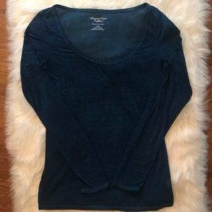American Eagle Outfitters Burnout Favorite Tee